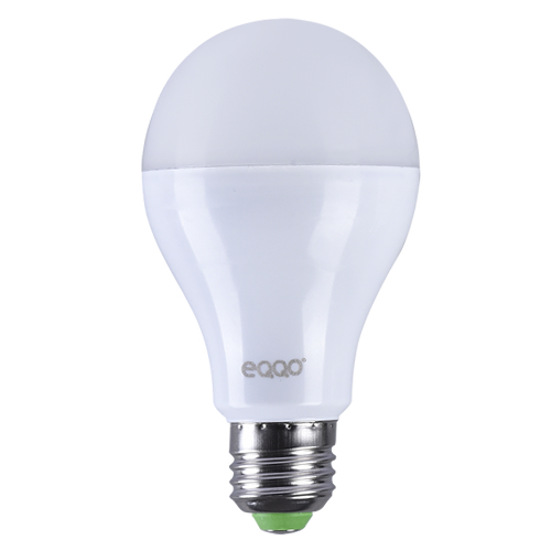 Kit 10 Lâmpadas Super LED 12w Bulbo E27 Bi-Volt Branca Eqqo (1000 Lumens)