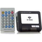 Receptor TV Digital automotivo 12v E-Max ISDB-T