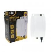 Amplificador 30db PIX P/ Antena Sinal Digital E Analógico