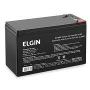 Bateria Selada 12v Elgin - Nobreak Alarme E Cerca Eletrica