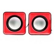 Caixa de Som Maxxtro SP-018 RD Vermelha (3W RMS)