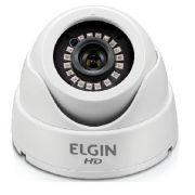 Câmera Digital DVR Mini Dome 4 Em 1 Hd 1080p 3,6mm 15Mts C41ht3m Elgin
