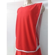 Kit Com 10 Coletes Futebol / treino Light (Vermelho)