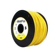 Filamento PLA para Impressora 3D 1KG 5+ (Amarelo)