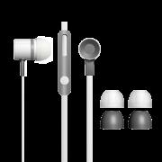 Fone de Ouvido Earphone com microfone 5112 InfoWise (Branco)