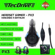 Headset Gamer XP PX3 X-CELL (Compatível PS4 / XBOX)