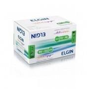 Kit 10 Bateria 9v Alcalina 6lr61 Elgin Inmetro - Blister