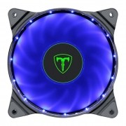Kit 3 Cooler Pc Gamer 120mm T-DAGGER T-TGF300-B Led Azul