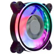 Kit 5 Cooler Pc Gamer 120mm 30 Leds 5 cores RGB AF-Z1225 K-Mex