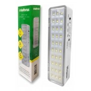 Kit 5 luminaria de emergência lea 30 intelbras (30 Leds)