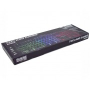 Kit 5 Teclado Gamer K-mex KM-5228 usb Multimidia (Função RGB LED)
