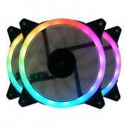 Kit Cooler Pc Gamer 120mm GC-F011 RGB C/Contr.Rem e Contr. Redragon