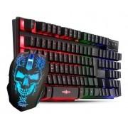 Kit Gamer (Teclado usb K709 + Mouse Usb EKM-302) Maxxtro