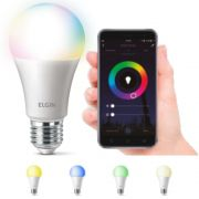 Lampada Led 10w Elgin Smart Color RGB Inteligente Wifi Google Alexa