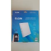 Luminária Led Quadrada Sobrepor 18w Smart WI-FI Elgin (Branca e Amarela)