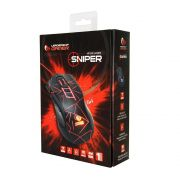 Mouse Gamer LeaderShip Sniper Led 3200Dpi C/ 7 Botoes