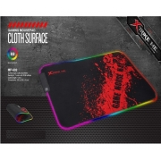 MousePad Gamer RGB 350X250x3mm Médio MP-602 Xtrike