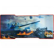 Mousepad Gamer Tank Fx-x8135 C/ Base Emborrachada K-mex