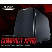 NoBreak 1400va TS Shara UPS Compact XPRO 4413 - Ent. e Saida 110v/220v (Ent.Bat.externa)