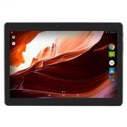 Tablet 10' Multilaser M10A Preto NB253 - Android 6.0, 2 Chips, Q.core, 2Gb Ram, Mem 16Gb. (OUTLET)