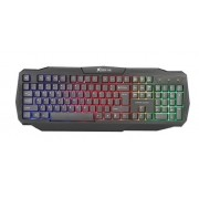 Teclado Gamer Membrana USB Xtrike Kb-302 (Função RGB LED)