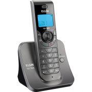 Telefone Sem Fio TSF7800 Grafite Elgin - Bina, Viva Voz, Visor Iluminado.