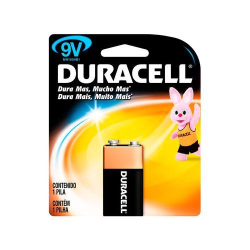 Bateria 9v Alcalina Duracell (Blister C/1)
