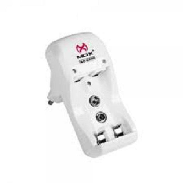 Carregador De Pilhas Aa Aaa 9v Mox Bi-volt Auto Stop Mo-cp30