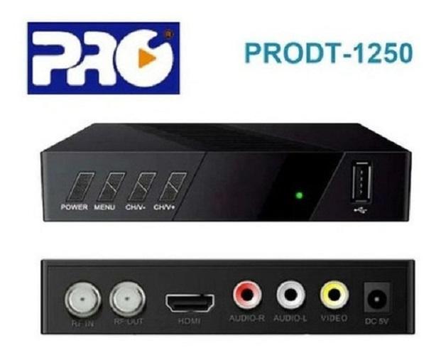 Conversor Digital Full Hd Pró Eletronic Prodt-1250