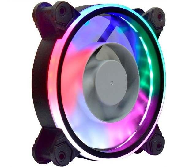 Cooler Pc Gamer 120mm 30 Leds 5 cores RGB AF-Z1225 K-Mex