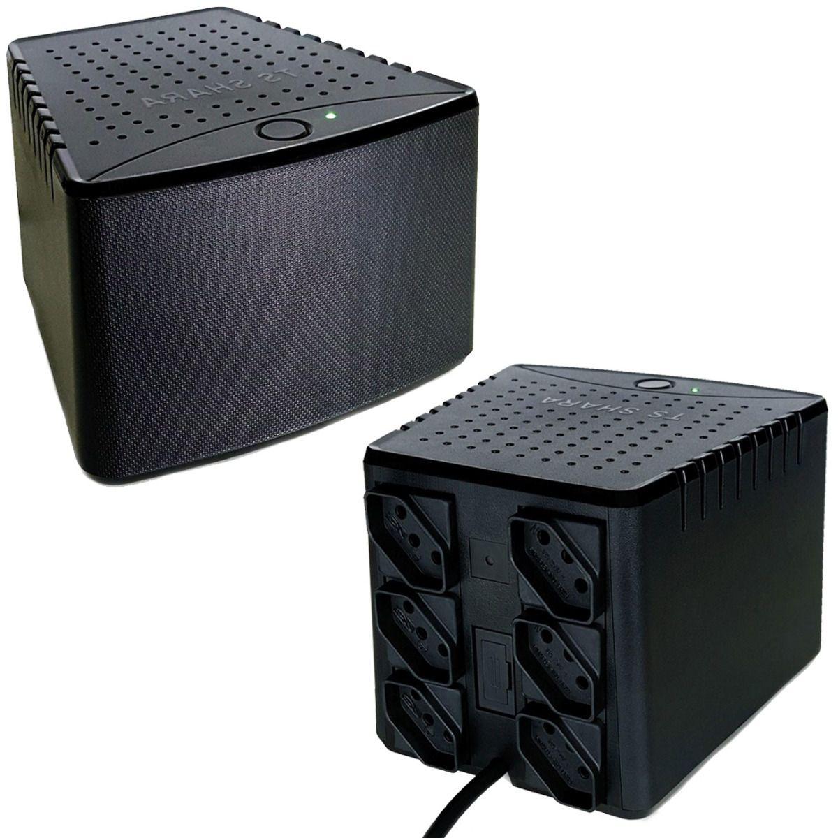 Estabilizador 1500va Powerest 9008 Ts Shara Mono Ent e Saida: 115v