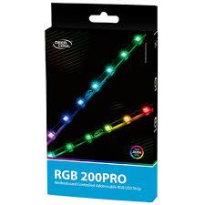 Fita De Led Rgb Deepcool 2 X 40cm 4 Pinos Molex - 200pro