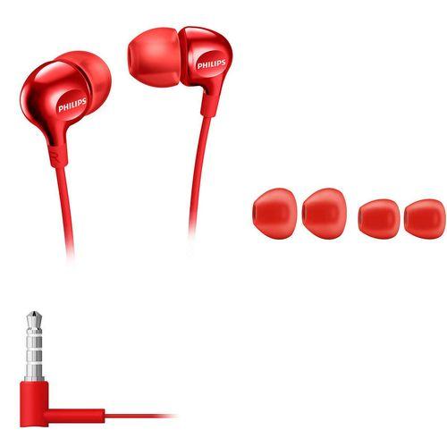 Fone De Ouvido Philips She3700 Vermelho