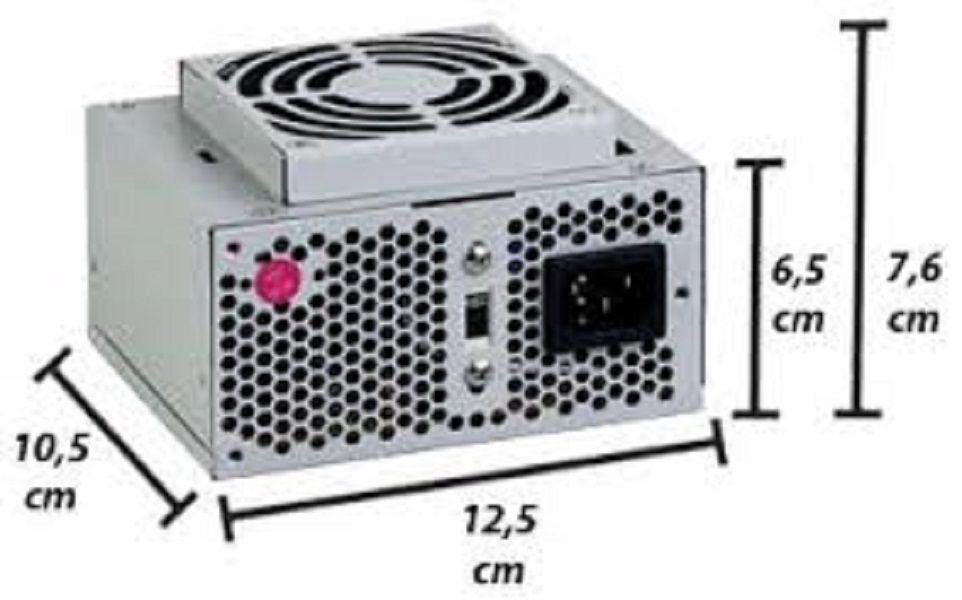 Fonte Mini Itx K-MEX PN-230ROF 230w Real Slim Bivolt.