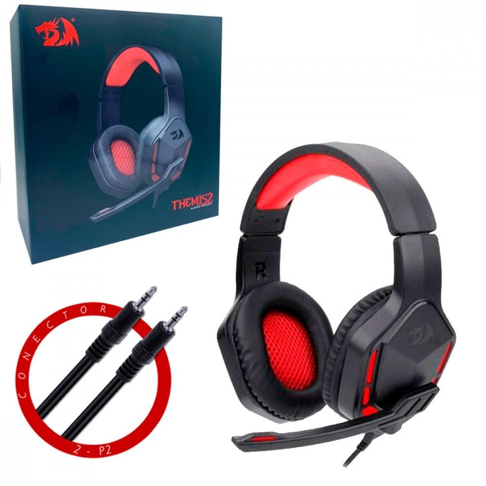 Headset Gamer com Microfone Themis H220 Redragon
