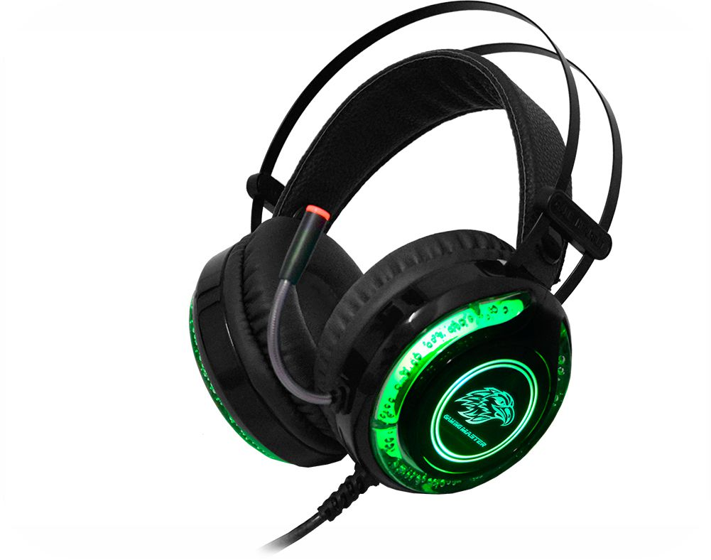 Headset Gamer K-Mex AR-S9300 Stereo C/mic Preto (Efeitos Led RGB)