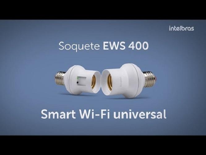 Interruptor Inteligente Wifi Ews 400 E27 - Intelbras