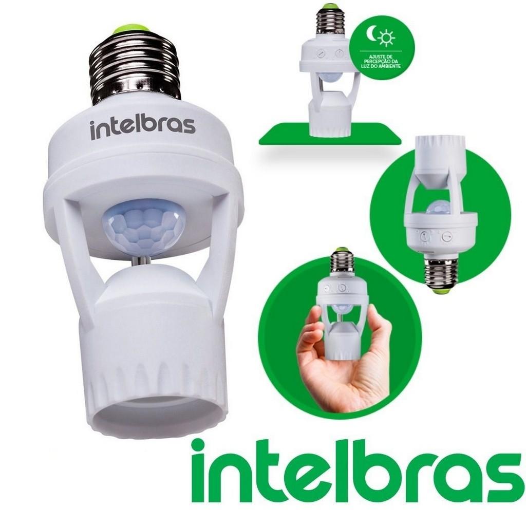 Interruptor Sensor Presença P/iluminação e27 esp 360 S IntelBras