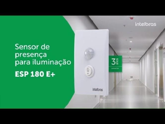 Interruptor Sensor Presença P/iluminação ESP 180 E+ IntelBras