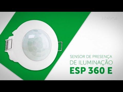 Interruptor Sensor Presença P/iluminação ESP 360 E IntelBras