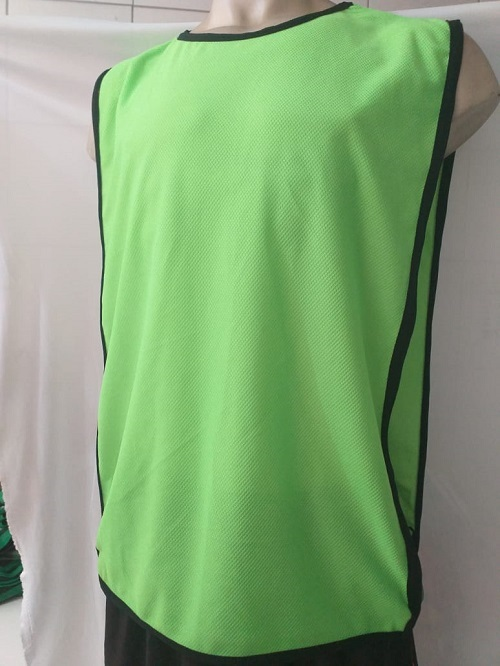 Jogo Com 5 Colete Face Unica Verde - Futebol / futsal / Treino