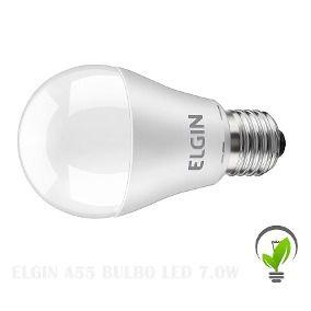 Kit 10 Lampada Led 15w Bulbo E27 BiVolt Elgin Branca 1350LM - Inmetro