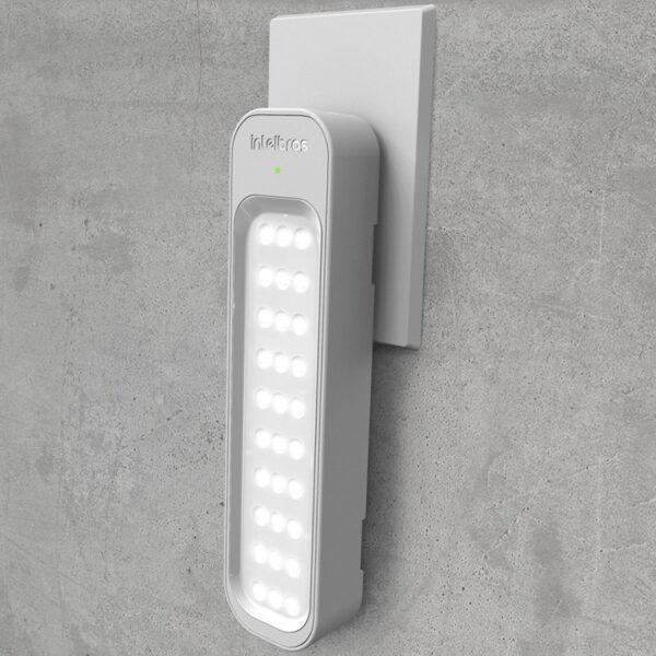 Kit 10 luminaria de emergência lea 150 intelbras (30 Leds)