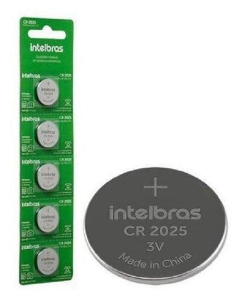 Kit 2 Bateria Lithium 3v Cr2450 IntelBras (Blister C/5)