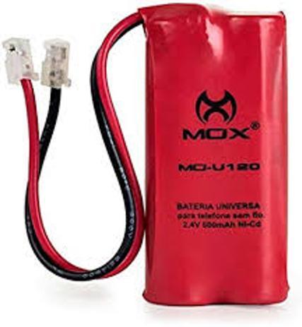 Kit 3 Bateria Mox Mo-u120 Para Telefone S/Fio (Várias Marcas)