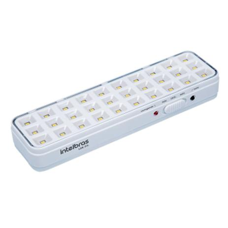 Kit 3 luminaria de emergência LDE 30L intelbras (30 Leds)