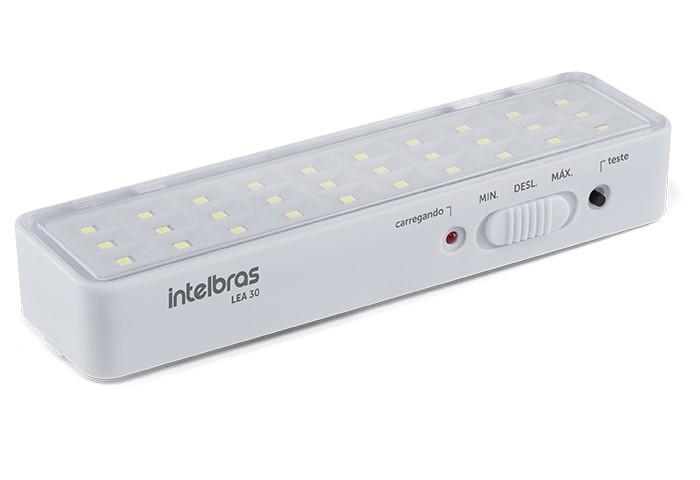 Kit 5 luminaria de emergência lea 30 intelbras (30 Leds)