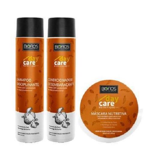 Kit Nutrição Capilar Nutrifique BioFios ( shampoo e condicionador + máscara )