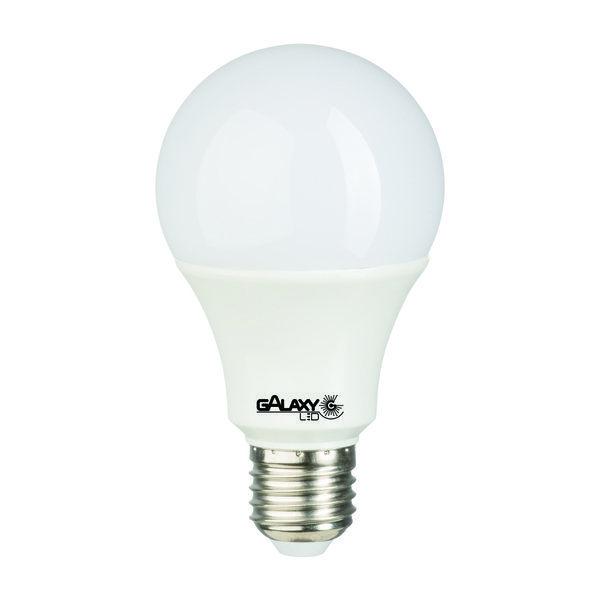 Lampada Led 14w Bulbo E27 BiVolt Galaxy Led Amarela 1521LM - Inmetro