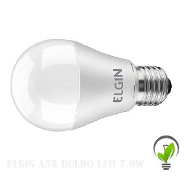 Lampada Led 15w Bulbo E27 BiVolt Elgin Branca 1350LM - Inmetro